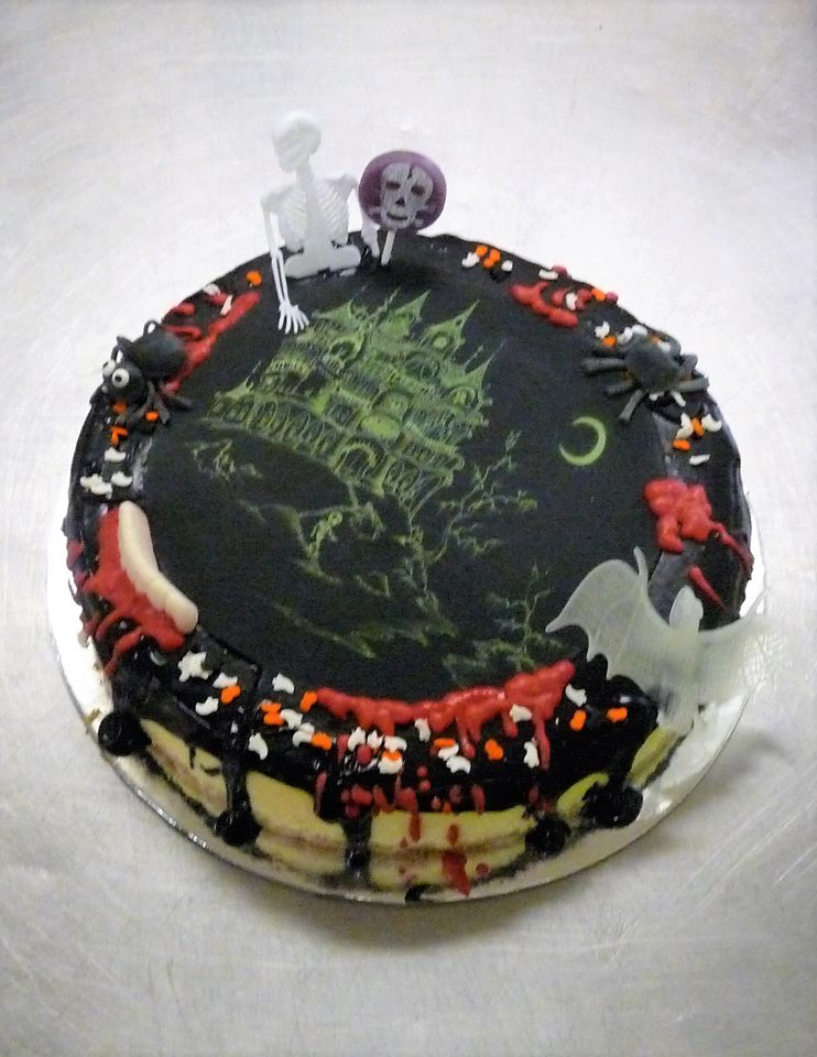 Celebrate Halloween The Traditional Way Zombies Cant Eat Cake So You Need To And Enjoy Before Its Too Late